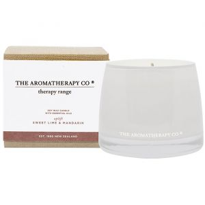 THERAPY UPLIFT CANDLE SWEET LIME & MANDARIN
