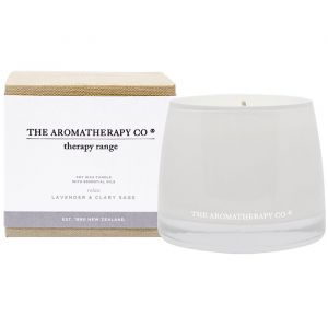 THERAPY RELAX CANDLE LAVENDER & CLARY SAGE