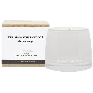 THERAPY STRENGTH CANDLE SANDALWOOD & CEDAR